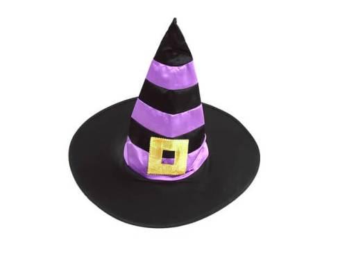 ハロウィーンコスチュームの魔女の帽子の写真