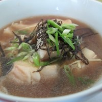Dosanko cooking simple fish soup
