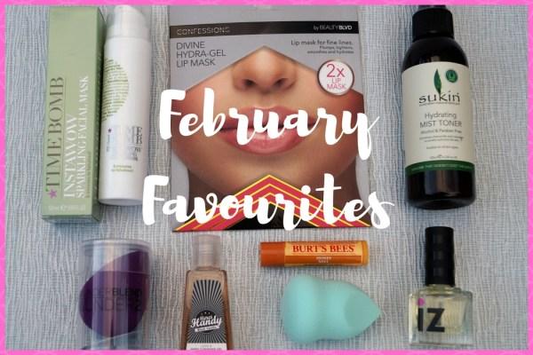 February Favourites Image