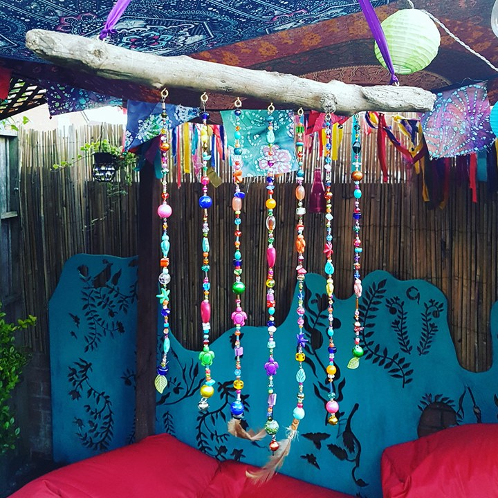 driftwood beads mobile