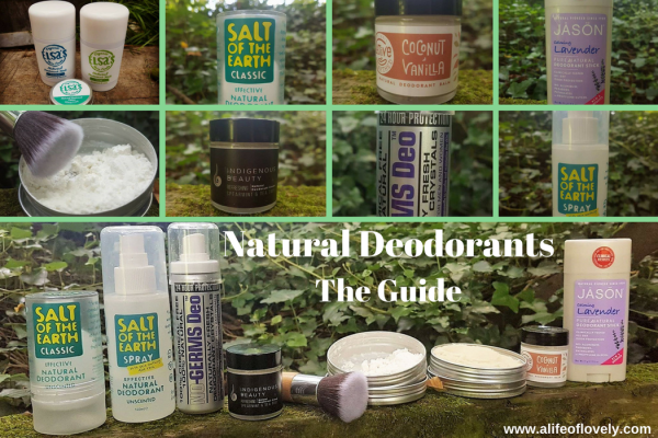 guide to natural deodorants