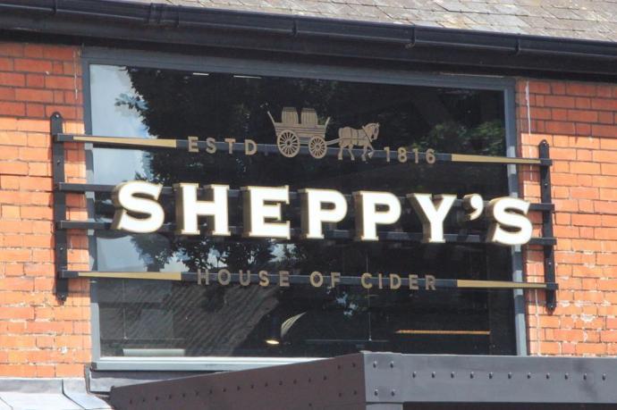 Sheppy's brewery