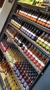 cider shop refrigerator