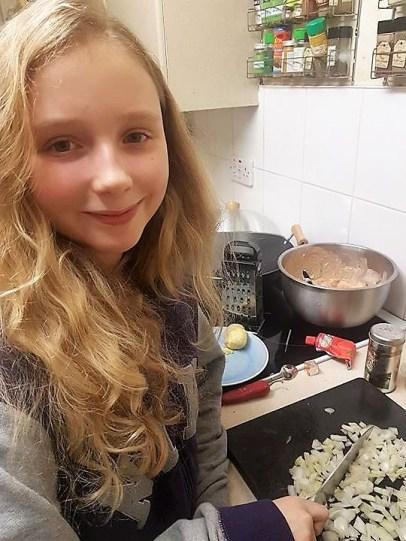 LissyLu cooking
