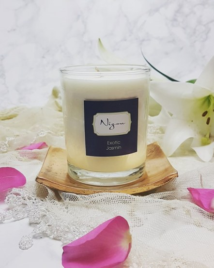 Nizou soy wax candle - exotic jasmin
