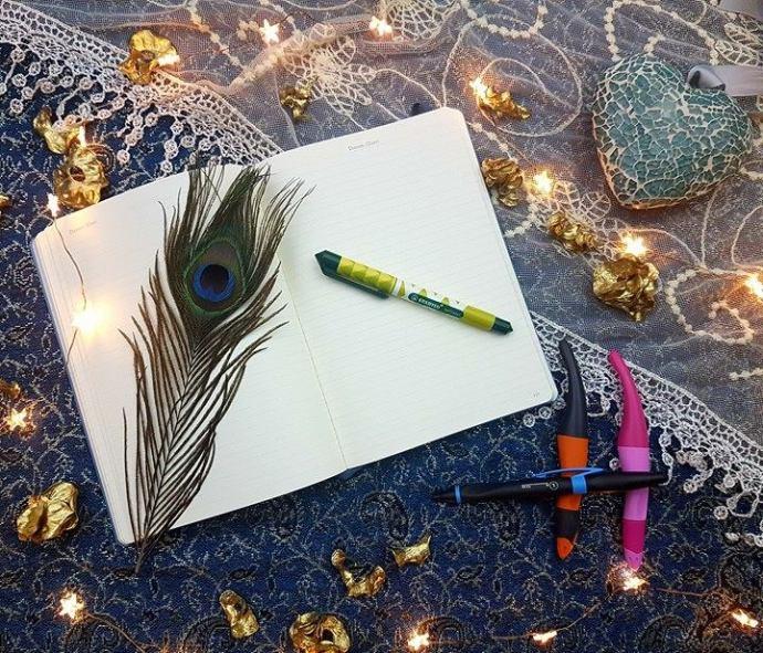 STABILO cartridge pen, easy pens, left handed pen