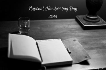 National Handwriting Day 2018
