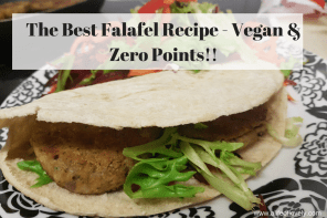 The Best Falafel Recipe – Vegan & Zero Points!!