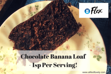 Chocolate Banana Loaf - 1sp Per Serving!