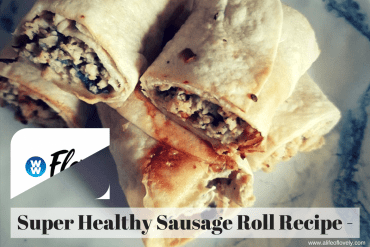 Super Healthy Sausage Roll Recipe - 1SP Each!