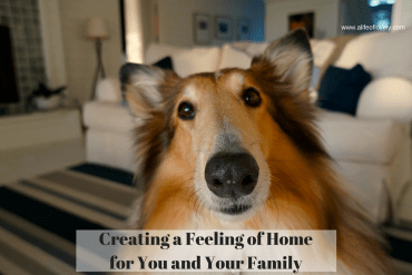 Creating a Feeling of Home for You and Your Family
