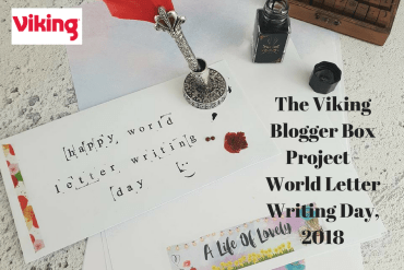 The Viking Blogger Box Project - World Letter Writing Day, 2018