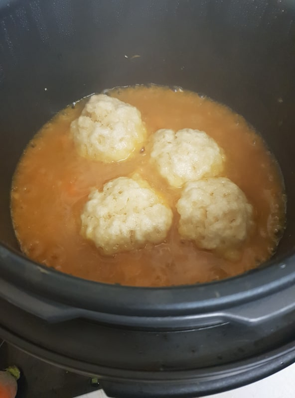 dumplings in Crock-Pot Express Multi-Cooker