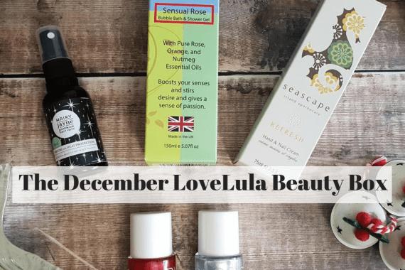 The December LoveLula Beauty Box
