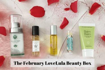 The February LoveLula Beauty Box