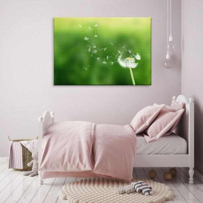 dandelion clock canvas