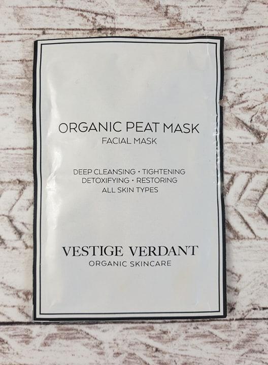 VESTIGE VERDANT ORGANIC PEAT MASK Facial Mask