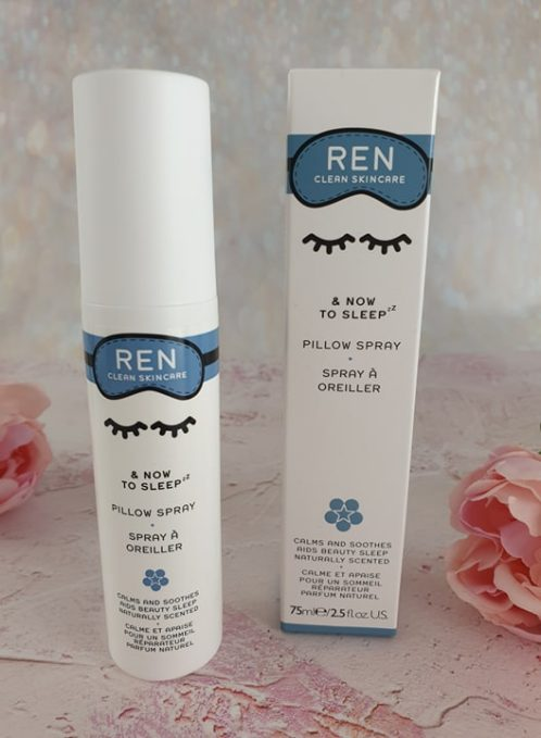 REN & Now To Sleep Pillow Spray
