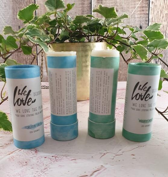 We Love The Planet deodorants