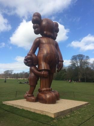 KAWS sculpture at Yorkshire Sculpture Park