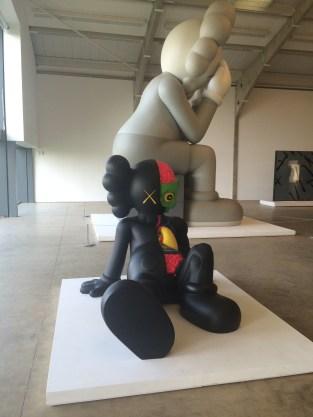 KAWS sculptures at Yorkshire Sculpture Park