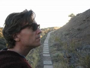 David Licata at Arcosanti.