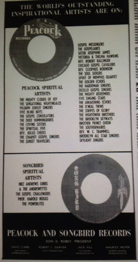 peacock records