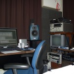 The sound lab. If you saw the posts about the digitization center at Baylor University, this should look familiar to you.