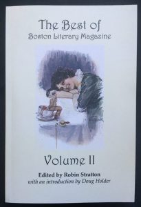 A Story Published in the Best of Boston Literary Magazine Vol II