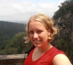 Selfie at Minyon Falls, 2012