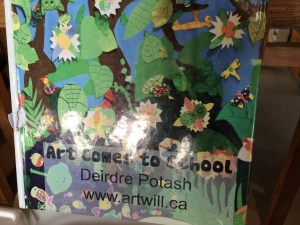 art comes to school