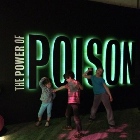 poison exhibit