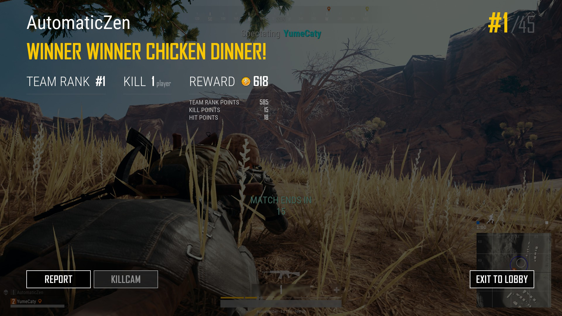 Chicken Dinner Pubg Wallpaper Tips Chicken Dinner Untuk Permainan Video Pubg