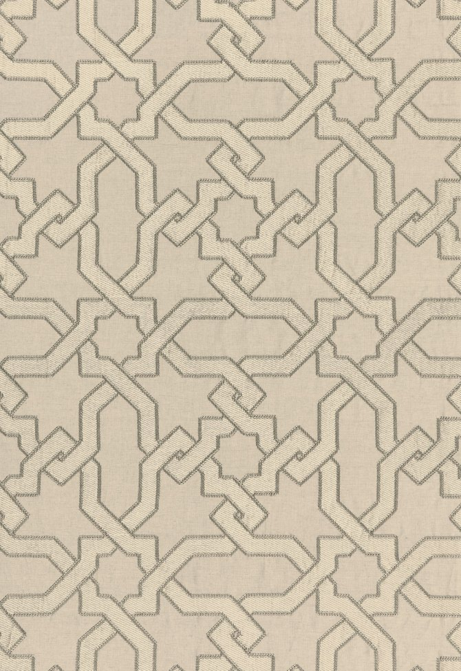 Au Naturel Collection: Cordoba Embroidery by F. Schumacher
