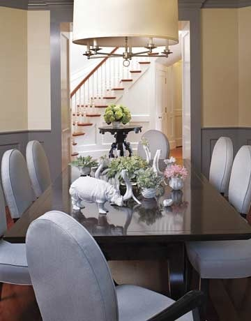 South Beach Chair, Dining Room by Burnham Design, House Beautiful