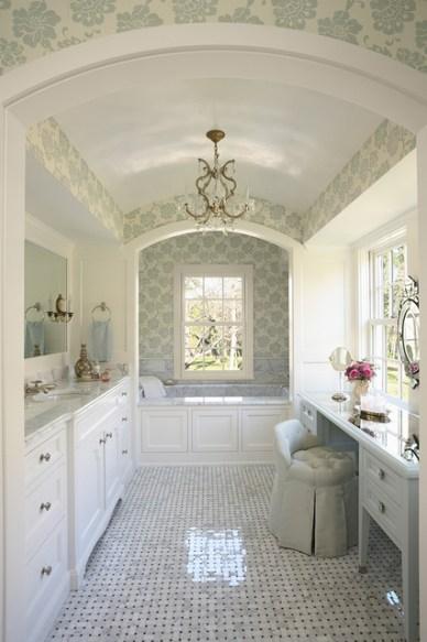 Traditional Bath | Cook Architectural Design Studio