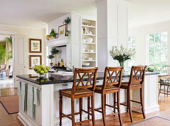 Open Kitchen Island Proves Multi-functional by Joseph Minton