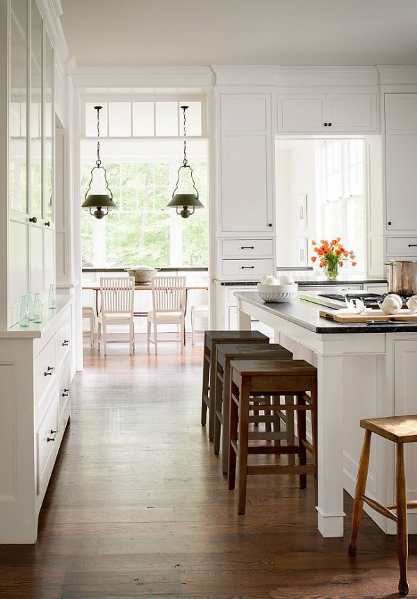 Benjamin Moore Simply White, Kitchen Cabinets, Donal Lococo Architects