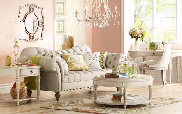 Pantone Rose Quartz, Lamps Plus