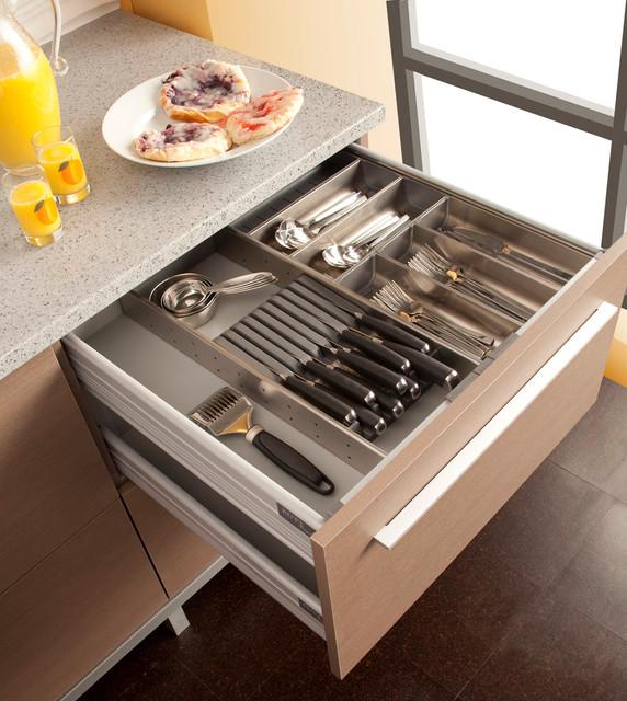 Cutlery~Stemware Organizer, Rutt Cabinetry