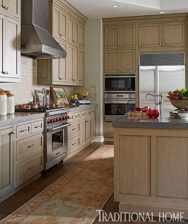 Custom Kitchen with Shaker Style Cabinets, Wood Flooring, MacFee Interior Design