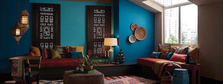 Unbounded Inspired Sitting Room, Sherwin Williams