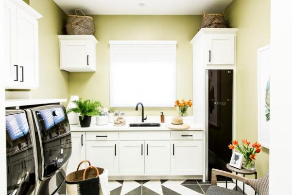 hgtv smart home 2017, laundry room