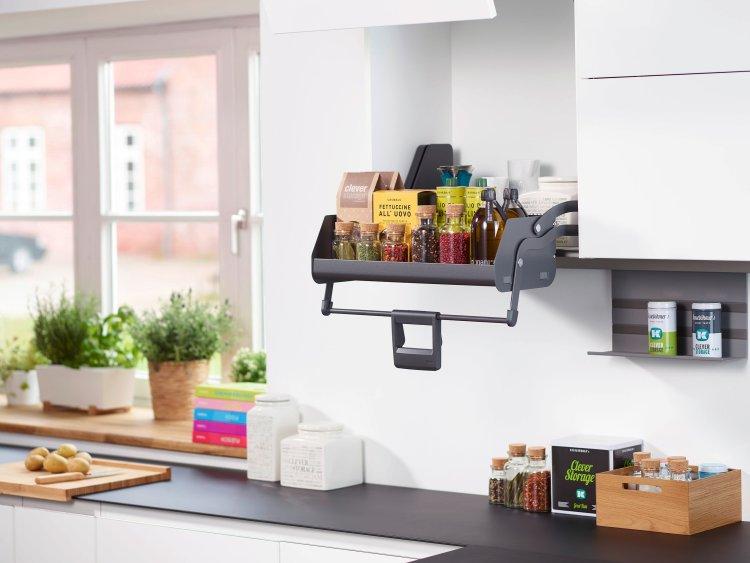 kitchen trends 2018, storage solutions