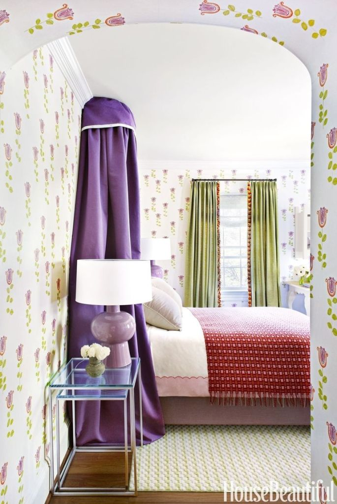 color trends 2018, pantone ultra violet, home trends