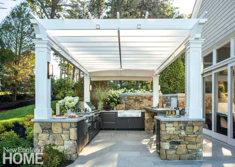 outdoor kitchen trends
