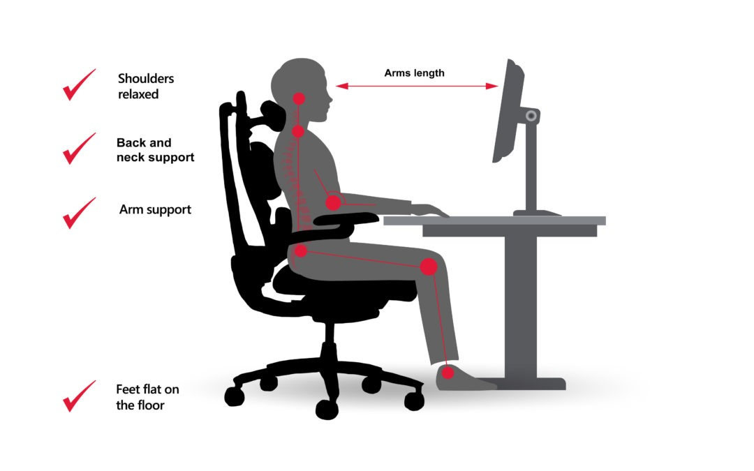 office chair posture tips industrial dining healthy from your coach setting up workstation
