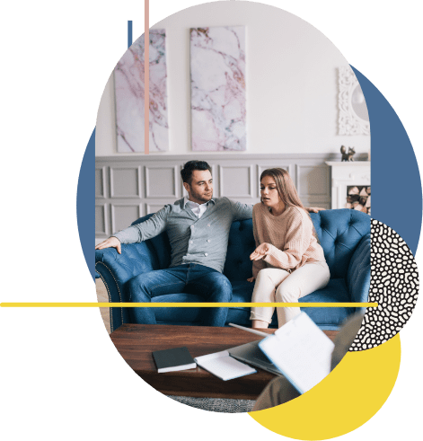 During their separation mediation session, the two spouses collaborate on finding workable solutions for their family and see what it feels like to be co-parents for the first time.