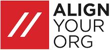 #alingyourorg logo