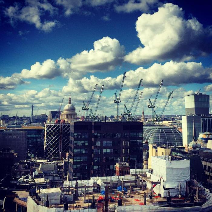 """London, always under construction"" - 2016 03 28 @michaelambjorn St Paul's and craned - on Instagram"